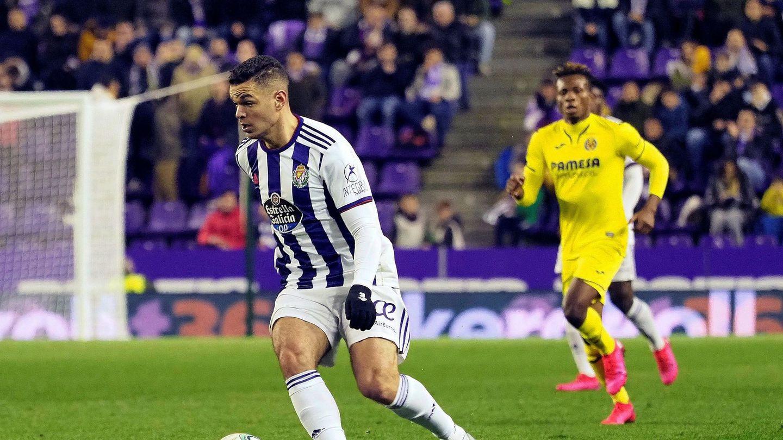Ben Arfa, en su etapa en el Valladolid. (EFE)