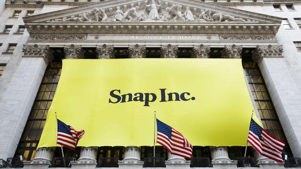 Snapchat se dispara más del 40% en su debut en Wall Street