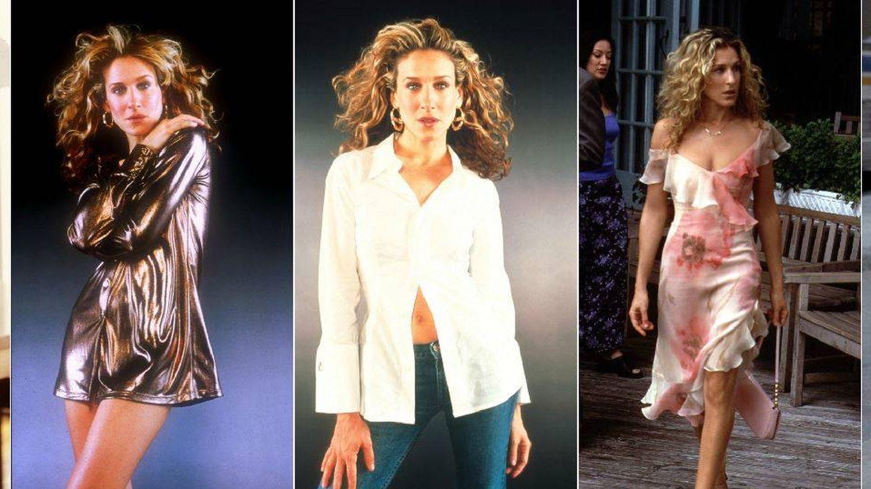Cinco ejemplos del estilo de Carrie.(Getty)