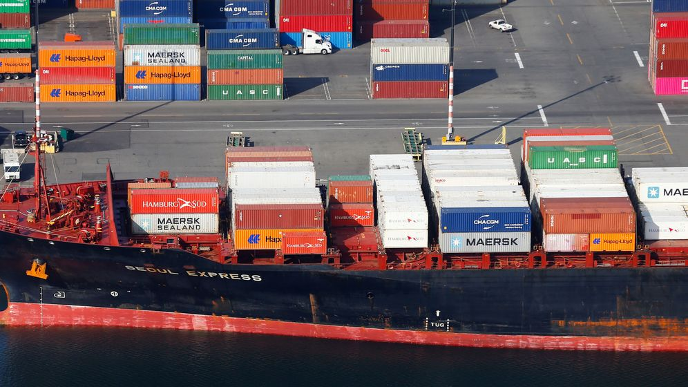 Foto: Un puerto en EEUU. (Reuters)