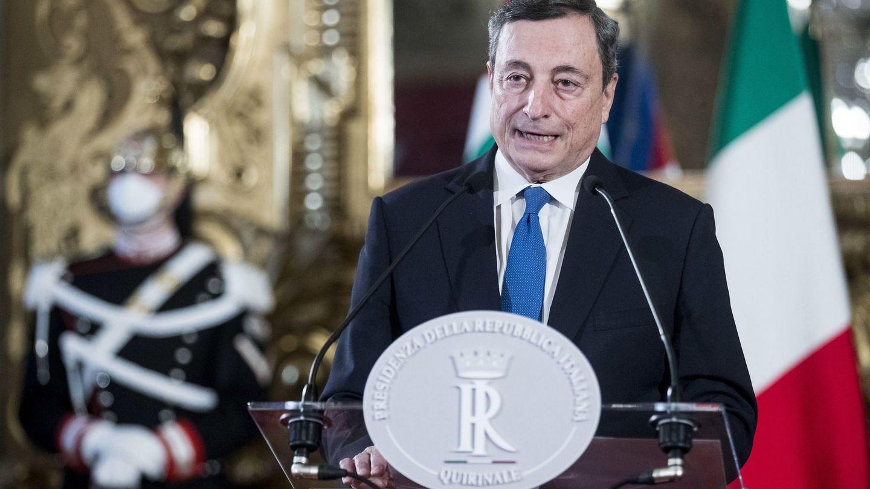 Mario Draghi, expresidente del BCE y encargado de formar Gobierno en Italia. (EFE)