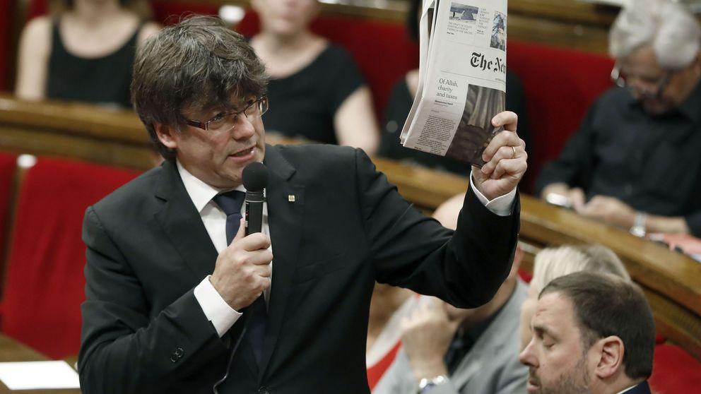 El Parlament aprueba condicionar ayudas a medios que hagan campaña del referéndum