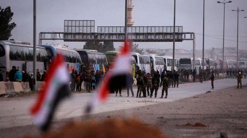 Los rebeldes sirios abandonan Guta Oriental