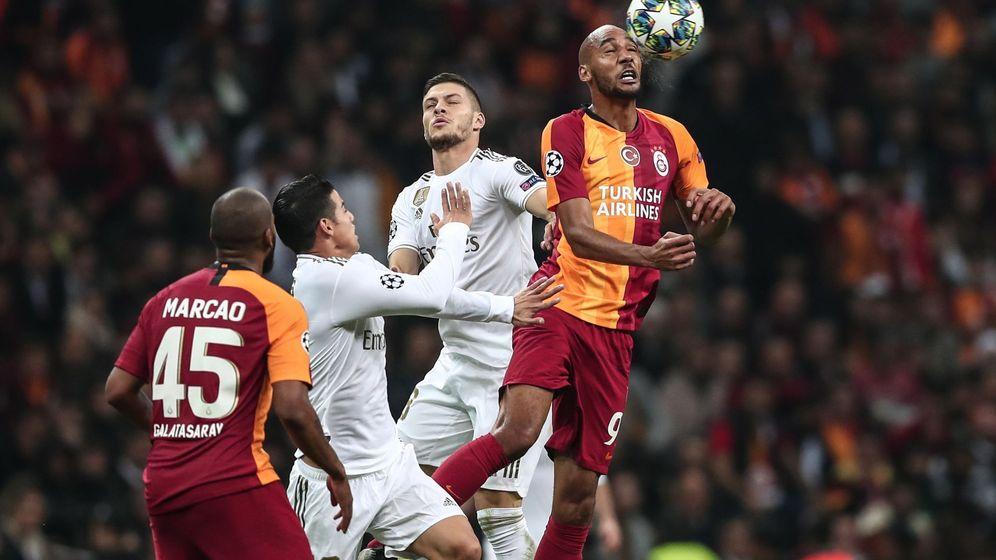Foto: Galatasaray - Real Madrid. (Efe)