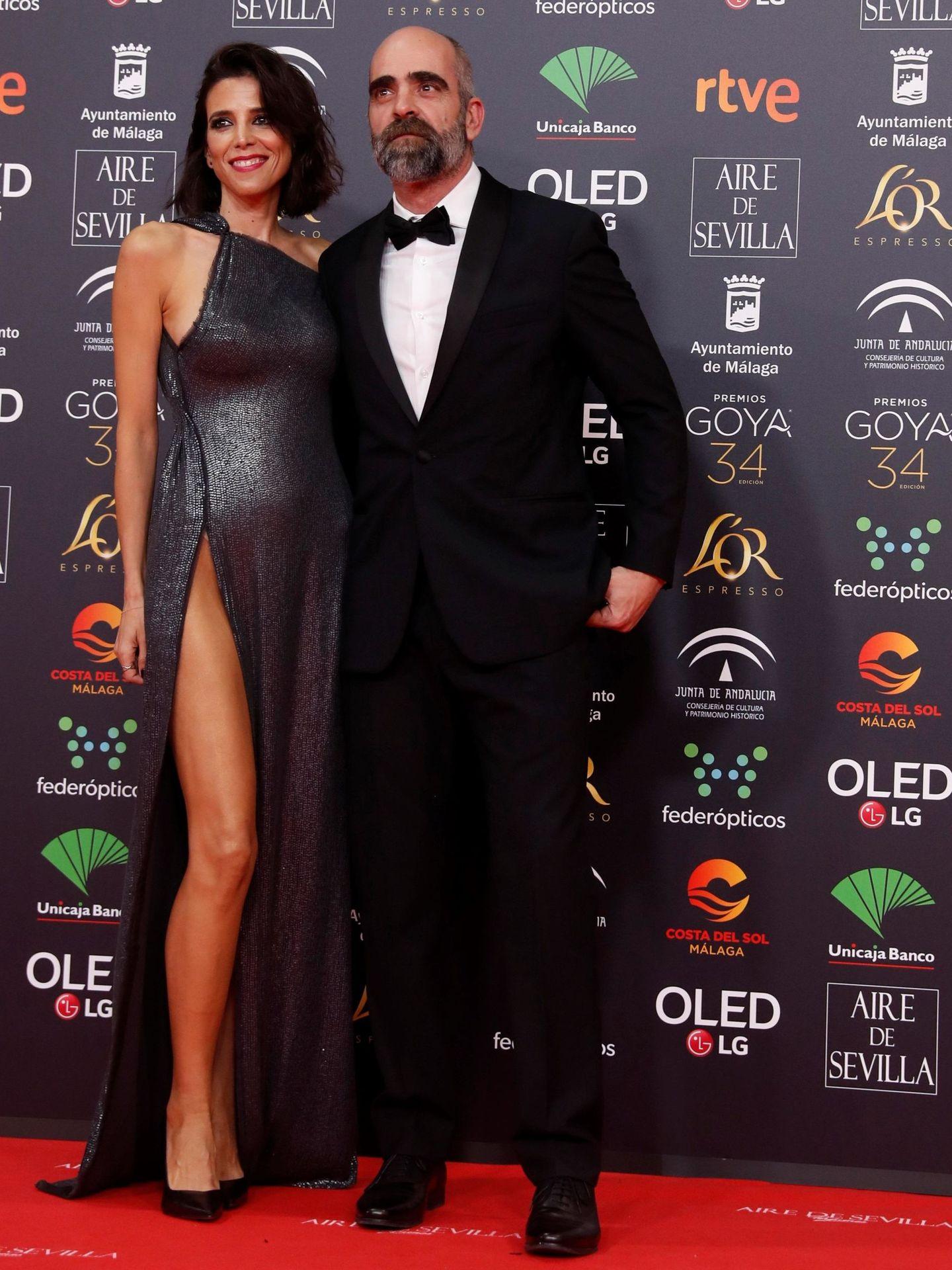 Tosar, Mayol y el vestido de la discordia. (EFE)