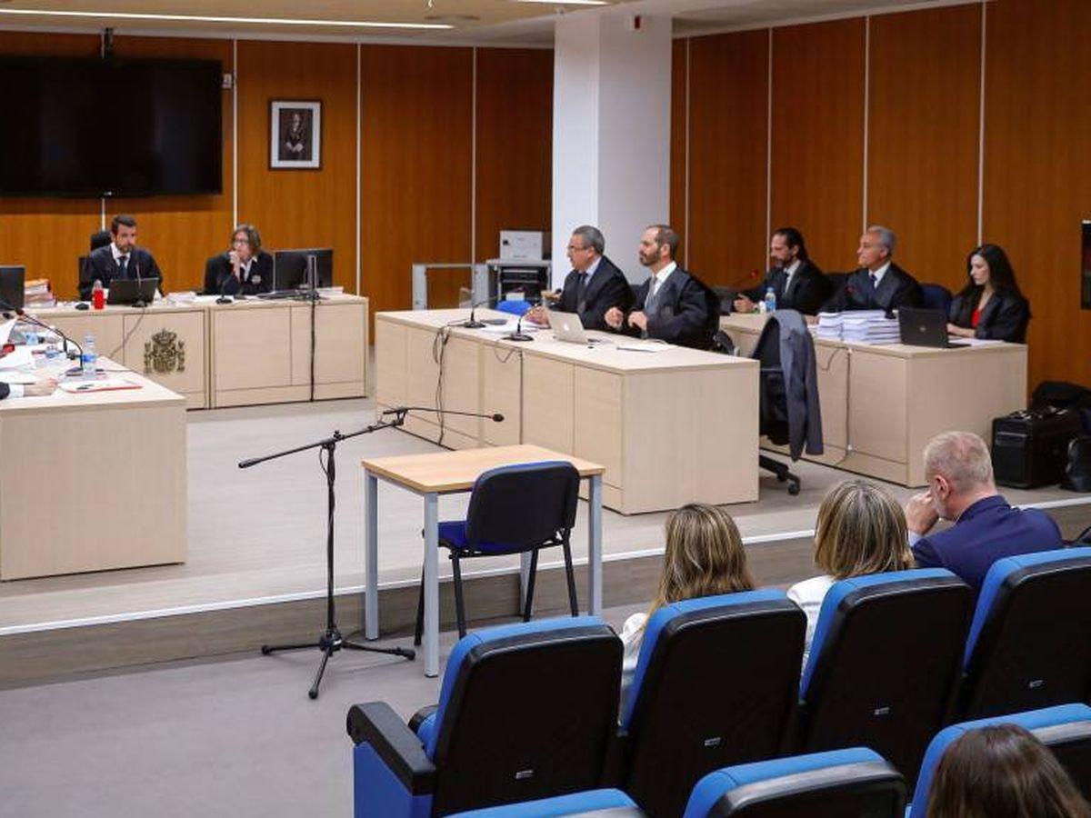 Foto: El juicio de los ordenadores de Bárcenas por el que el PP se sentó en el banquillo. (EFE)