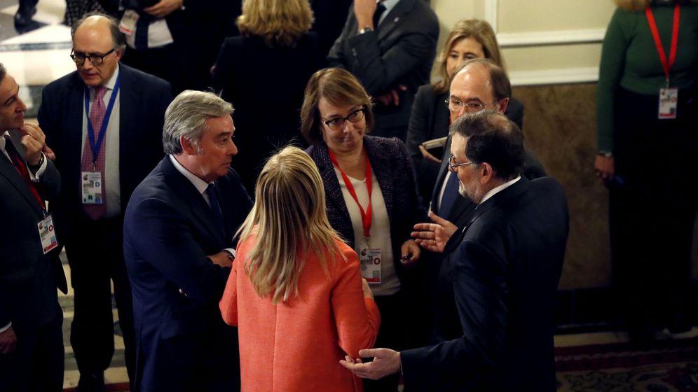 Foto:  Rajoy, al término de la VI Conferencia de Presidentes.