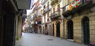 Post de Las esteladas toman las calles de Hernani, la 'patria' de Aramburu