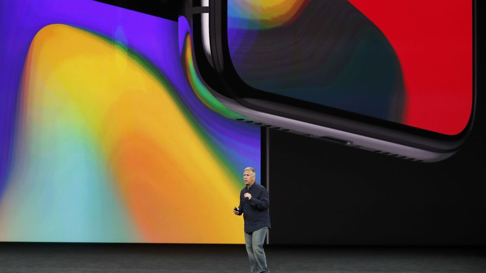 Foto: Vista del nuevo iPhone X. (Reuters)