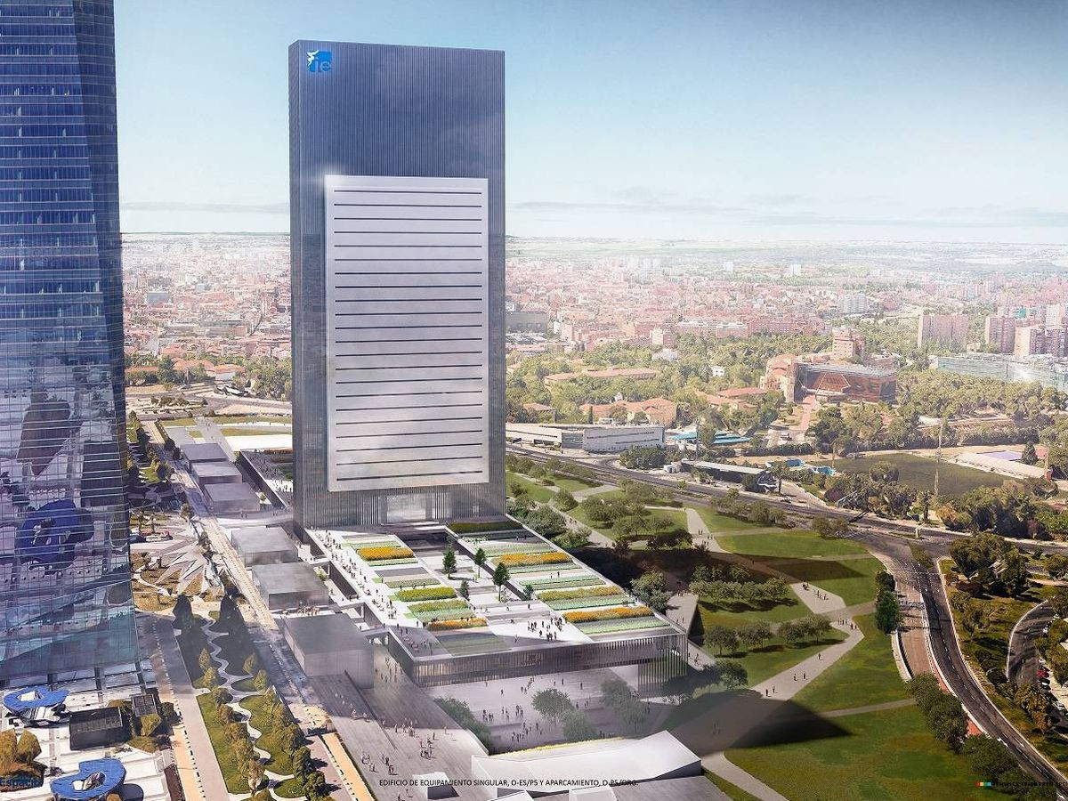 Foto: Proyecto de la futura Quinta Torre.