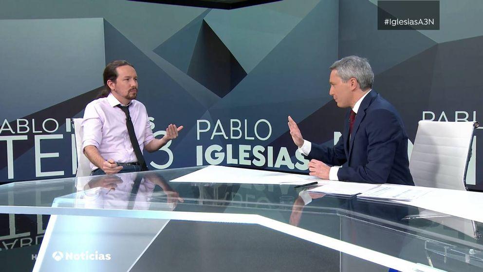 El dardo de Pablo Iglesias a Atresmedia tras la cuestionada pregunta de Vallés