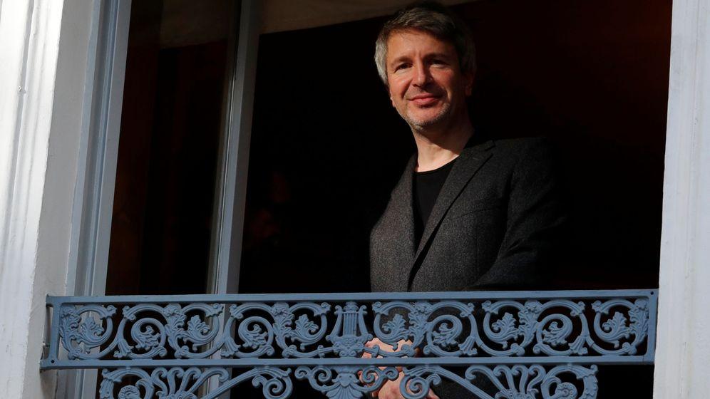 Foto: El escritor francés Eric Vuillard (REUTERS)