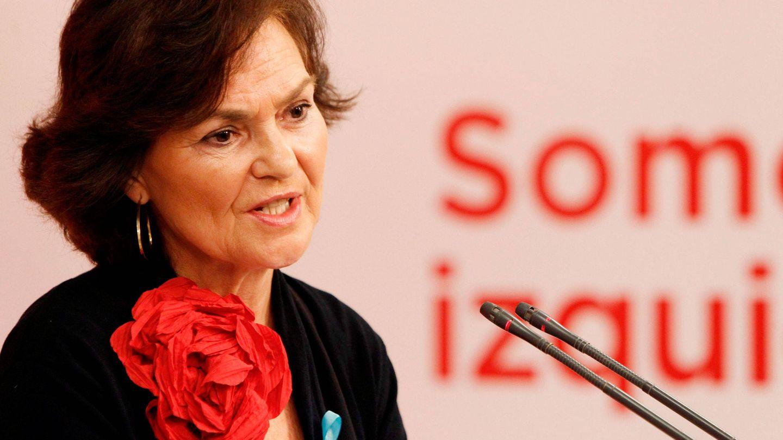 Carmen Calvo, vicepresidenta de Igualdad. (EFE)