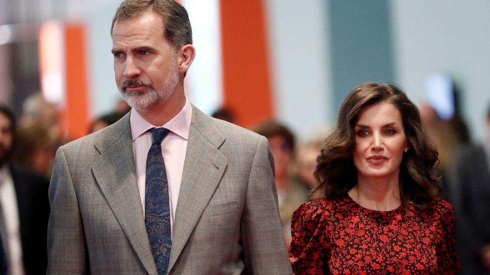 Foto: Los reyes Felipe y Letizia, en la inauguración de ARCO en febrero. (EFE)