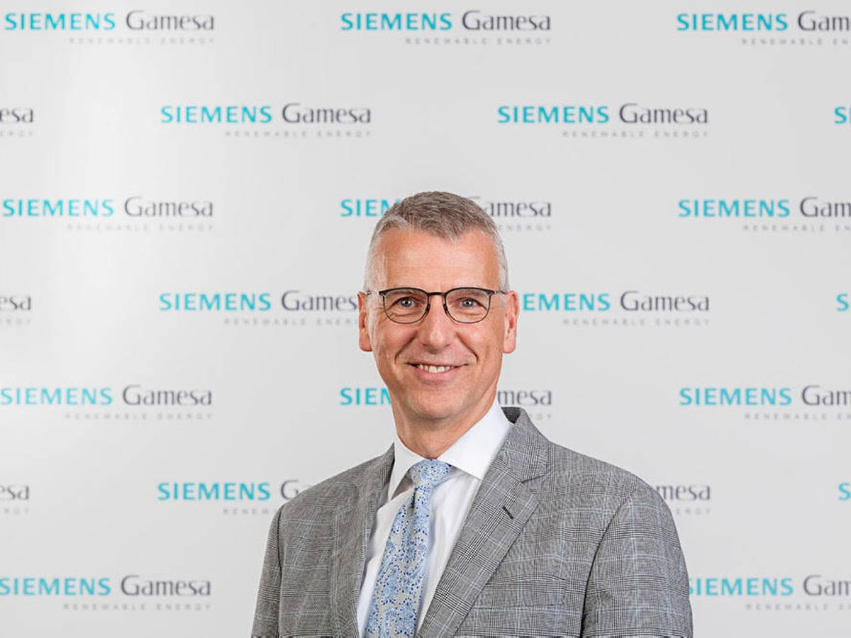 Foto: Andreas Nauen, CEO de Siemens Gamesa