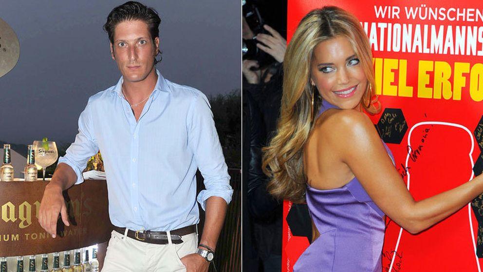 Luis Medina y Silvia Meis, ex de Van der Vaart, cómplices en Ibiza