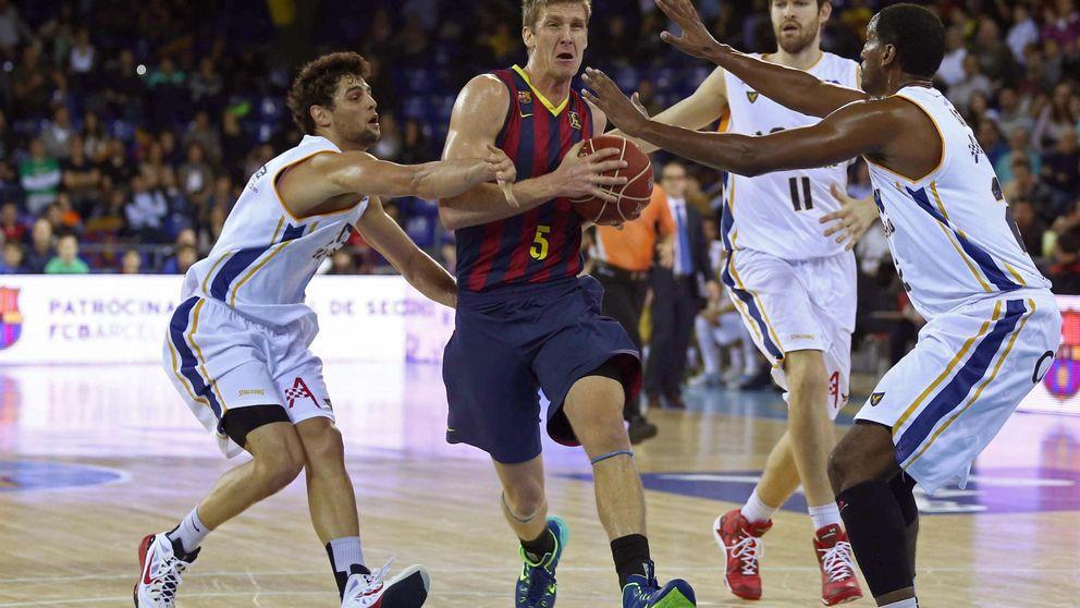 El UCAM Murcia no fue rival para un Barcelona muy superior