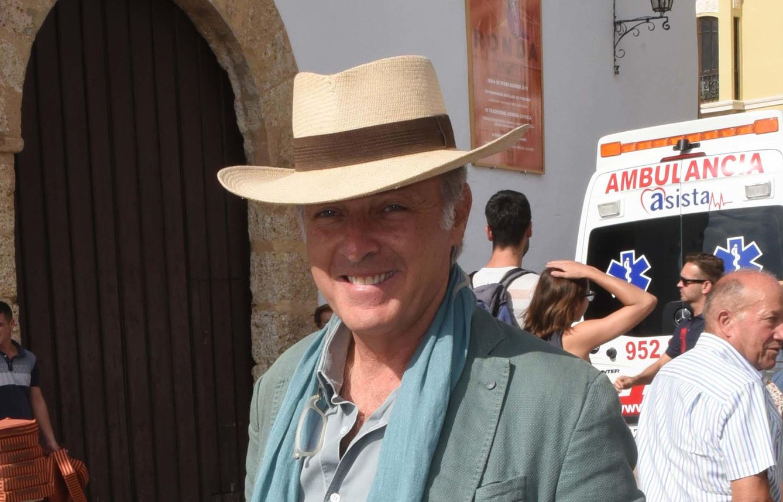 Foto: José Manuel Soto en la feria de Pedro Romero 2015 (Gtres)