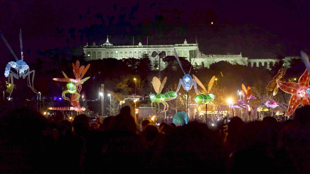Foto: Foto de recurso de Madrid de noche y en plena Navidad, luces y colores. (Foto: Ayuntamiento de Madrid)