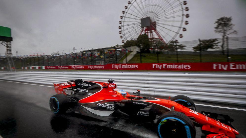Foto: Fernando Alonso, este viernes en el circuito de Suzuka. (EFE)
