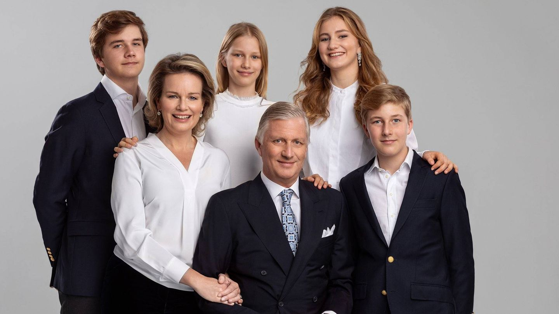 La familia real belga. (Casa Real de Bélgica)