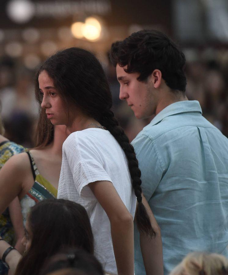 Foto: Froilán y Victoria Federica durante la entrega de los Premios Telva 2017. (Gtres)