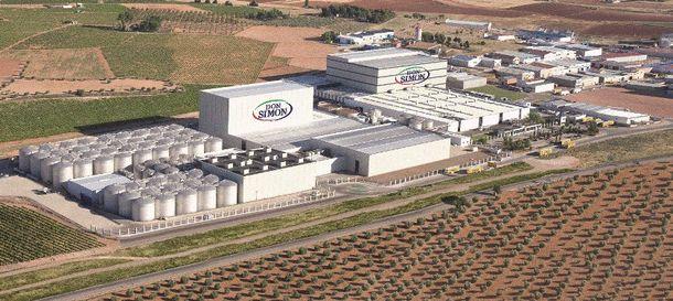 Foto: La planta de García Carrión de Daimiel (JGC)
