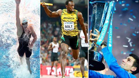 Los diez protagonistas del deporte internacional en 2015