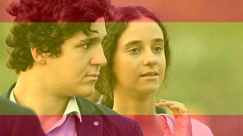 Victoria Federica y Froilán en la manifestación por la unidad de España
