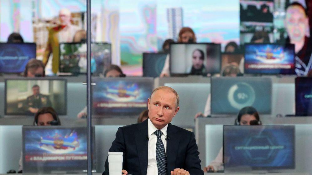 Foto: Putin contestará a preguntas de los rusos en su tradicional línea directa