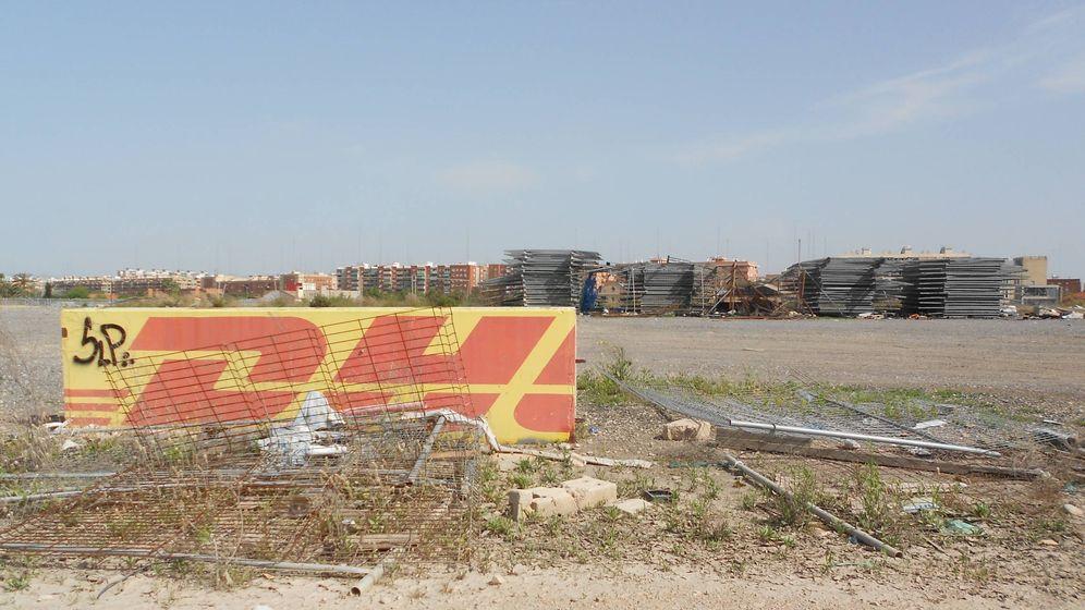 Foto: Los terrenos del circuito de Fórmula 1 de Valencia, ahora abandonado. (V.R.)