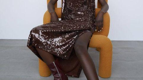 Zara y el vestido de lentejuelas que sienta genial a todas las tallas y es supertrendy