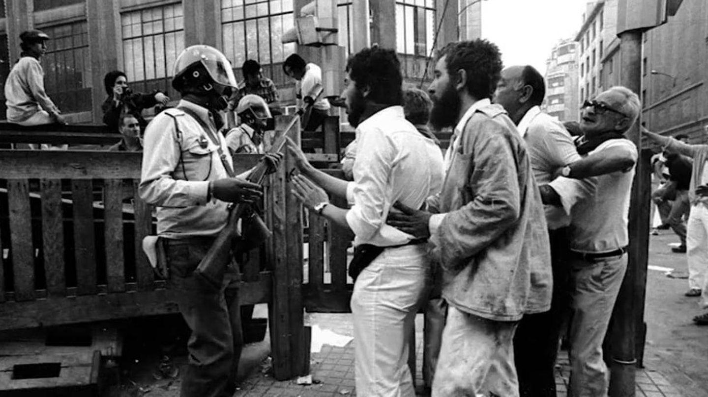 Los disturbios del 8 de julio de 1978 en los Sanfermines.