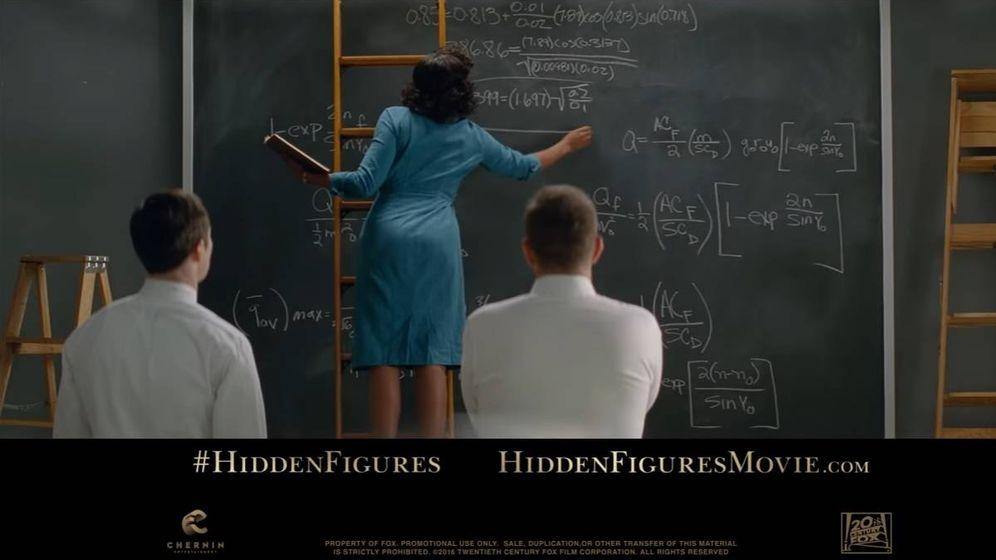 Foto: Fotograma de la película 'Figuras ocultas'.