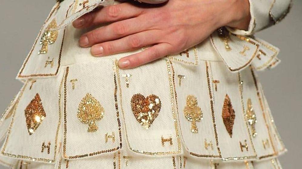 Foto: Detalle del vestido en cuestión. (Cortesía de Teresa Helbig)