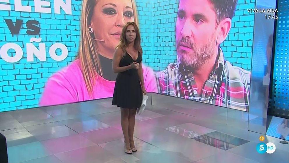 'Socialité': María Patiño hace los deberes tras un estreno plagado de errores