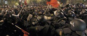 Foto: Interior: la libertad de expresión no será parapeto para atentar contra policías