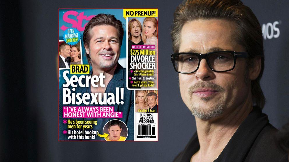 Brad Pitt y sus diez años de relaciones bisexuales, según la prensa americana
