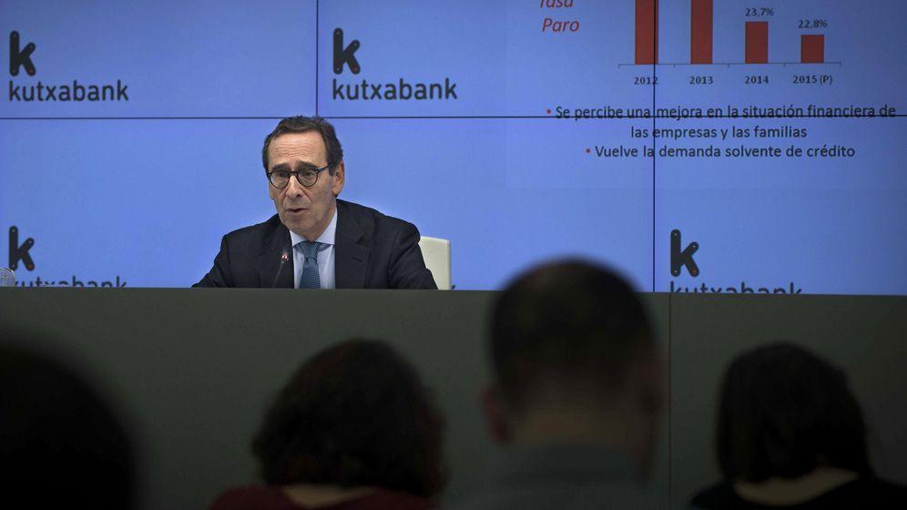 Foto: Varios directivos de Kutxabank, presidida por Gregorio Villalabeitia, tendrán que sentarse en el banquillo. (EFE)