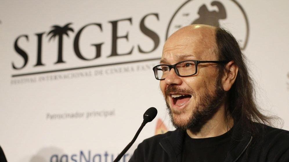 Foto: Santiago Segura en la presentación de 'Consumo responsable (Nivel 7)' (EFE)