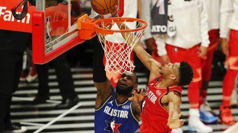 El equipo de LeBron se lleva el triunfo en los NBA All Star (con Leonard, el MVP)