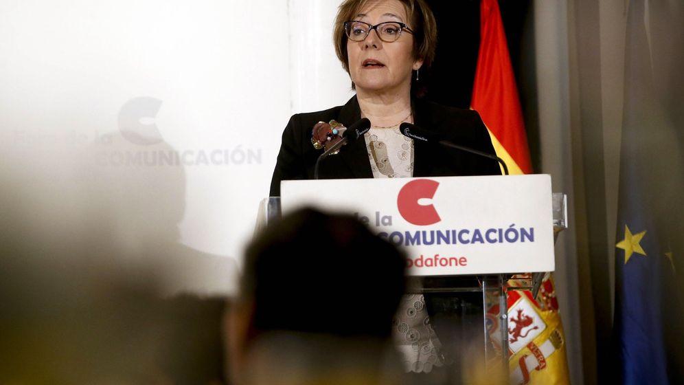 Foto: La secretaria de Estado de Comunicación, Carmen Martínez Castro,