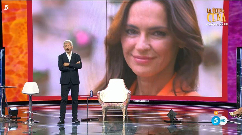Carlos Sobera, en 'Ahora, Olga'. (Mediaset)