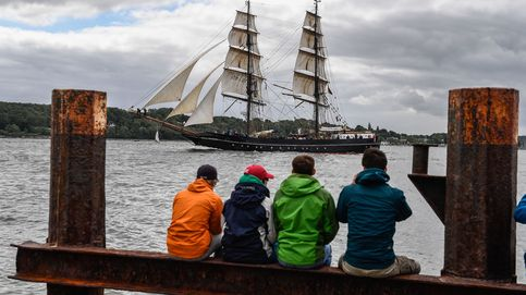 Barcos de vela en Kiel