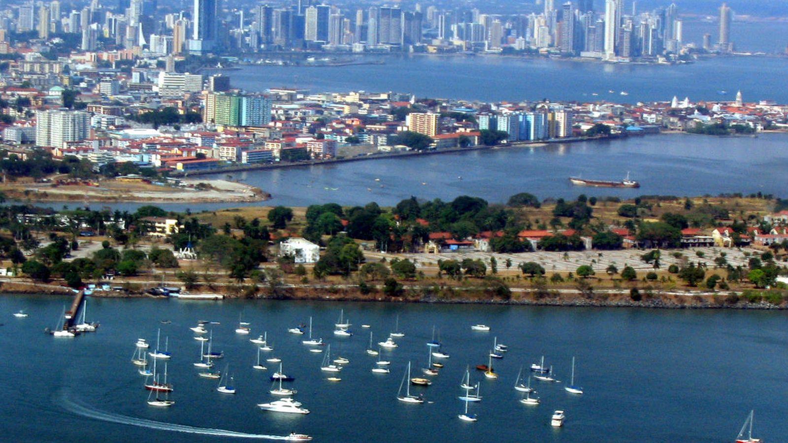Foto: Vista aérea de Panamá. (CC/Dsasso)