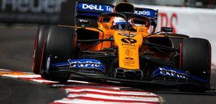 Post de Carlos Sainz mantiene un año más su romance con las calles de Mónaco