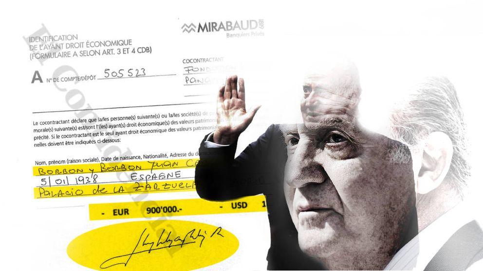 Juan Carlos I sacó 100.000 euros al mes en billetes de su cuenta suiza entre 2008 y 2012