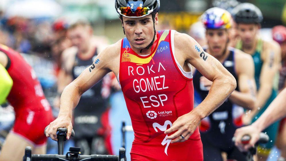 Foto: Javi Gómez Noya, en una imagen de archivo. (EFE)