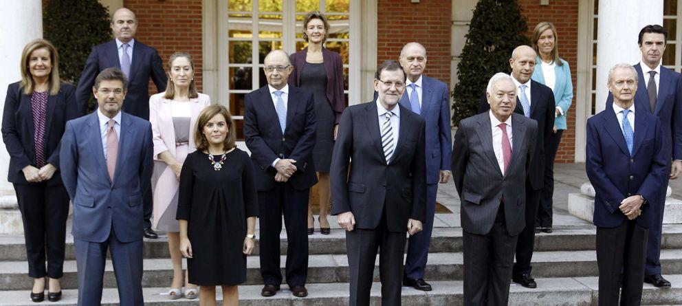 Foto: Imagen previa al Consejo de Ministros del 3 de octubre. (Efe)