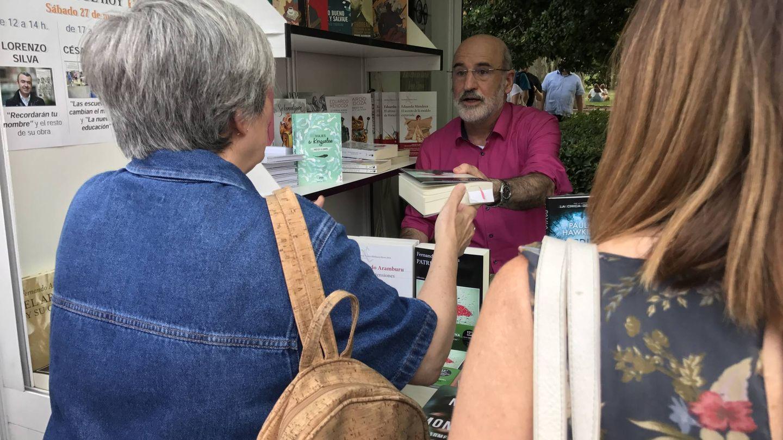 Fernando Aramburu es la estrella de esta edición de la Feria del Libro (J.E.)